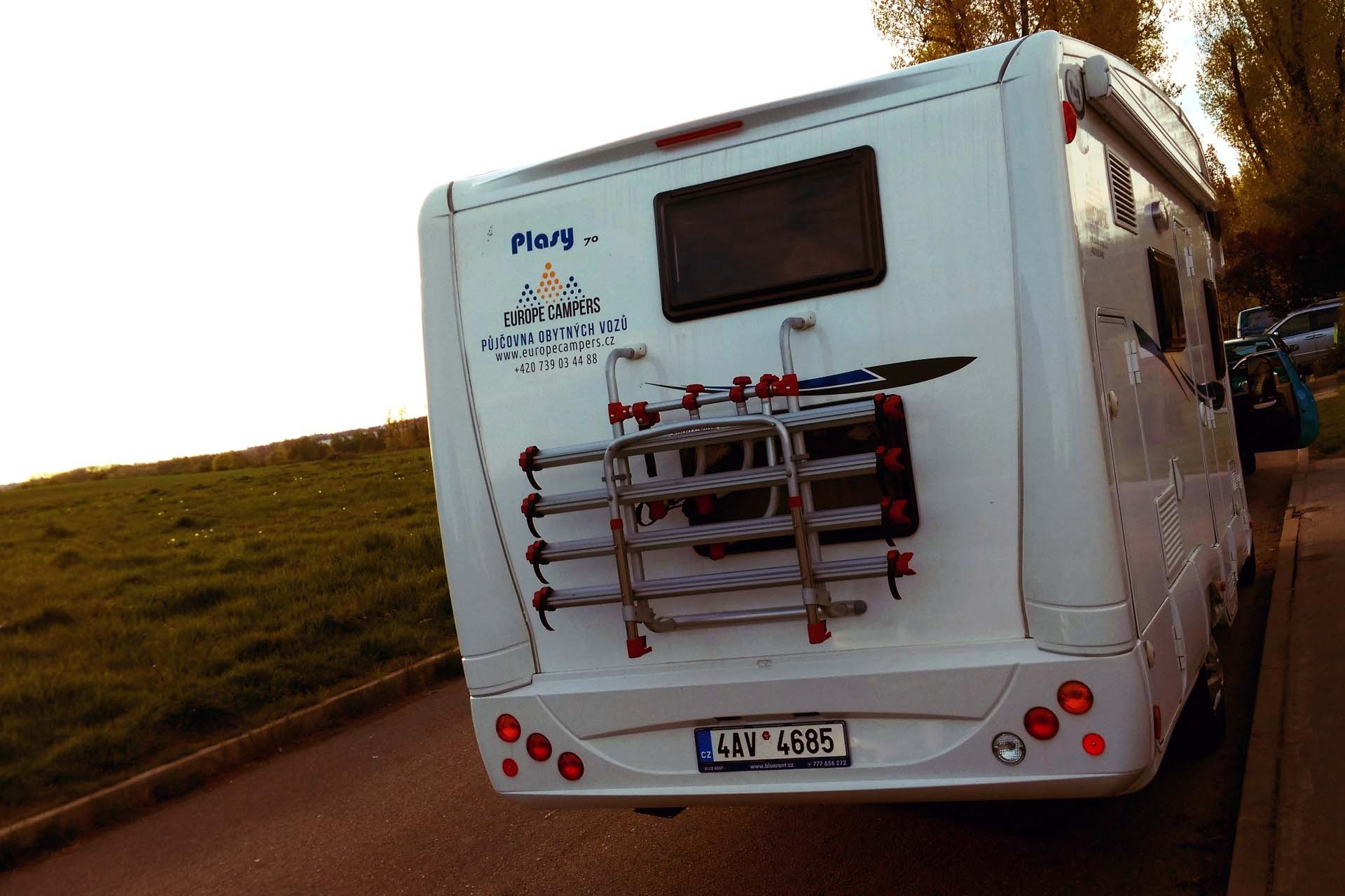 Europe Campers P.L.A. Plasy P70