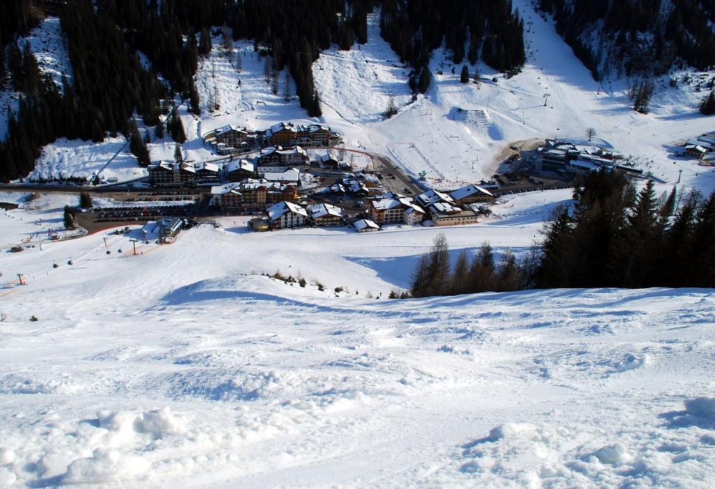 Zimní kempování - Flachau